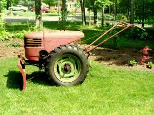 2 Wheel Tractor 1900 : Old two wheel garden tractors ftempo