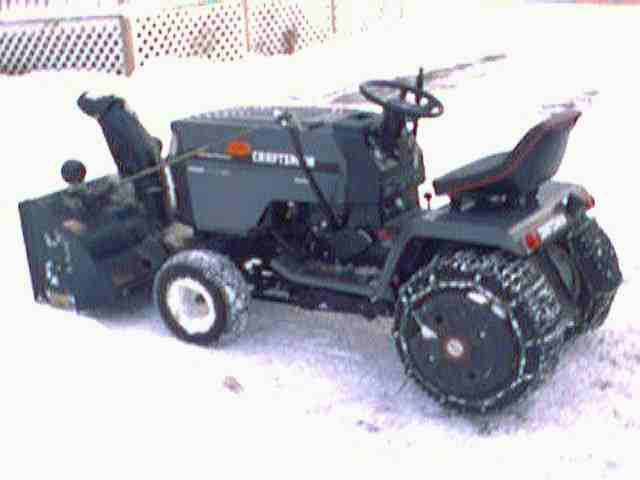 Lawn Garden Tractors Photo Page Craftsman