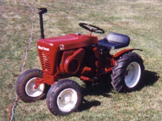 Lawn & Garden Tractors Collectors Wayne Nethercutt